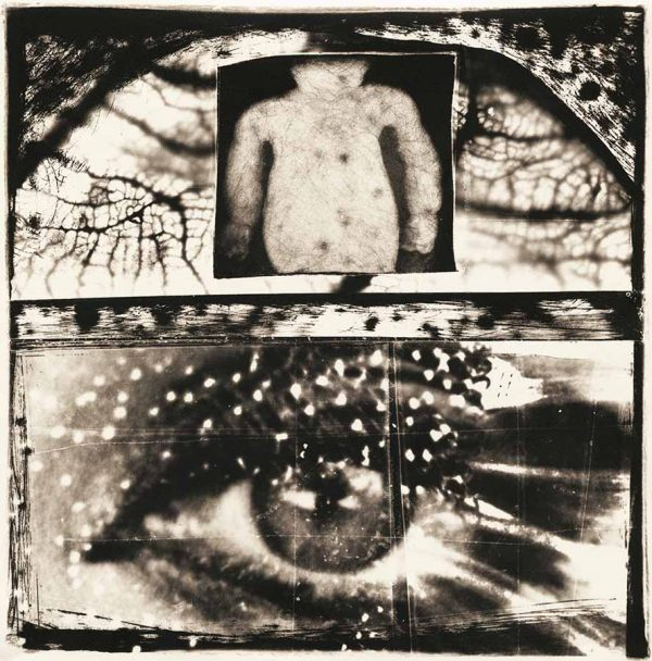 Gnosis 1, pigment print from negative collage by Smith Eliot