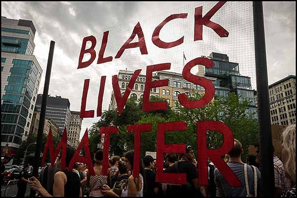 Black Lives Matter VIII by Ben Arnon