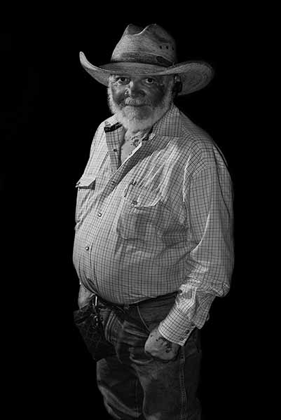 Rancher, from Cowboys of Color by Don Russell