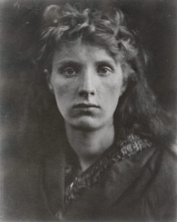 Julia Margaret Cameron 1815-1879, photographed for 11 years: 1864-1875, Mountain Nymph