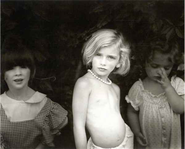 Sally Mann, Pearl Necklace from Immediate Family