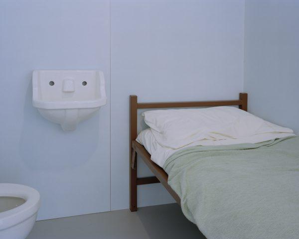 "Mock Prison Cell, Cayuga Museum by Joe Librandi-Cowan, pigment print, 16""x20"",open edition, $400"