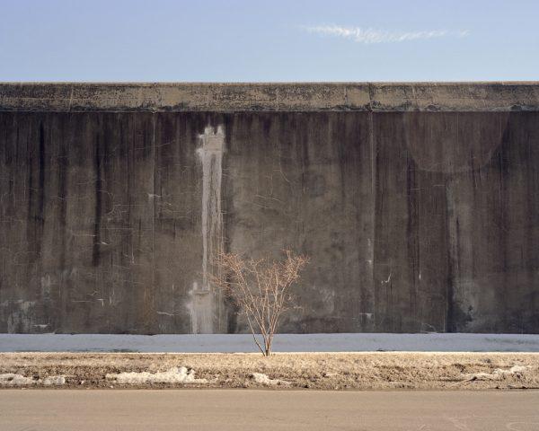 "Wall in Winter by Joe Librandi-Cowan, pigment print, 16""x20"",open edition, $400"