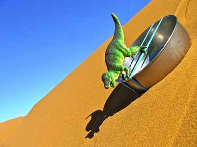 Adventures of Otto, A Tiny Toy Dinosaur by Thomas Pickarski