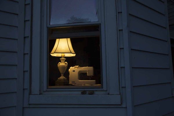 Window at Dusk, Summertime, 2016 by Flynn Larsen