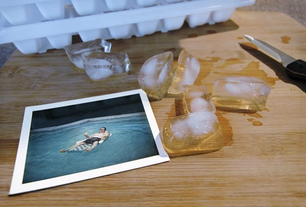 Dad's Ice 2015, 12x18 Archival inkjet print on Hahnemuhle Photo Rag 1/10 $450 by Kev Filmore