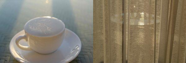 Morning Coffee - Veranda by Michal Greenboim