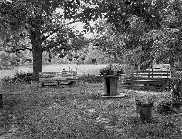 James Cox's Yard, Oglethorpe County, Georgia, 1987 by Vaughn Sills