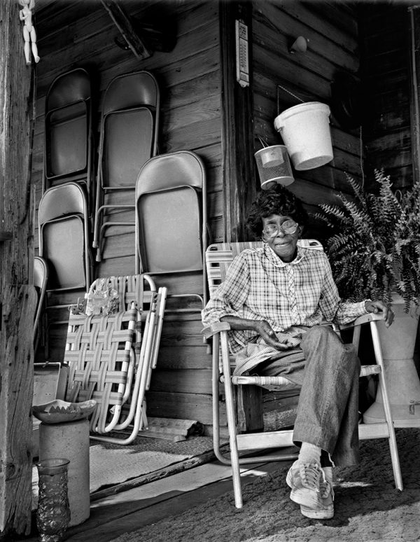Inez Faust, Oglethorpe County, Georgia, 1991 by Vaughn Sills