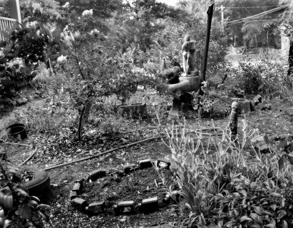 Bea Robinson's Garden, Athens, Georgia, 1987 by Vaughn Sills