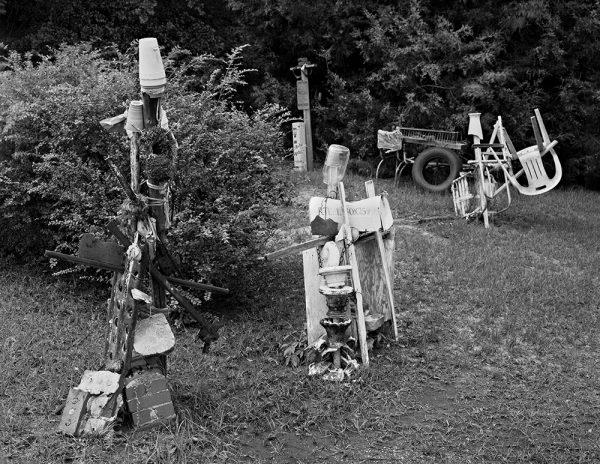 Emma Moore's Yard, Marion, Alabama, 2001 by Vaughn Sills