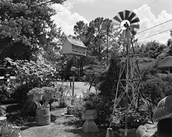 Reverend Jules Landry's Garden, St. James, Louisiana, 2001 by Vaughn Sills