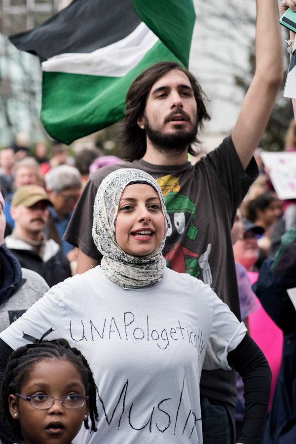 Unapologetically Muslim by Nicole Buchanan, 2017 Women's March, Atlanta GA