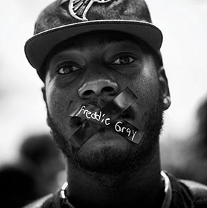 Black Lives Matter, Freddie Gray by Sheila Pree Bright