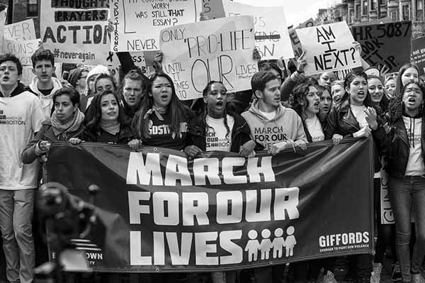 March For Our Lives, Boston, 1 by David Whitney
