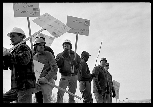 Hard Hats Picket by Marjorie Nichols
