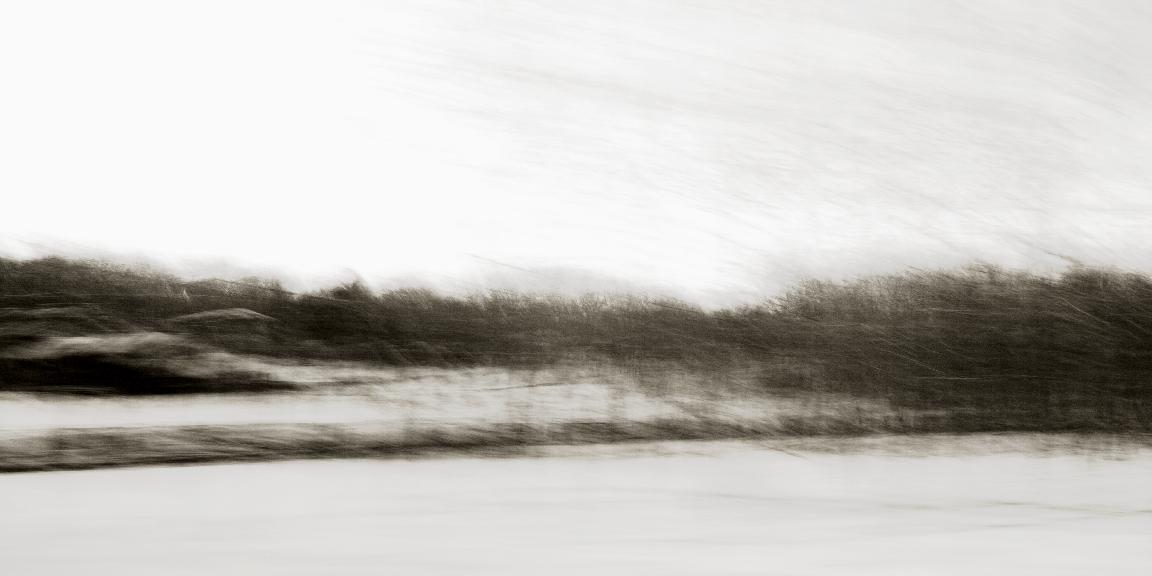 "Moving Image 1 by Elisa Keogh, pigment print, 9""x18"""