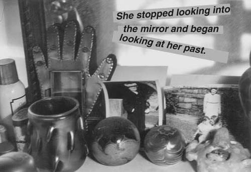 She stopped looking into the mirror ..... by Miriam Goodman from her movie, After a Certain Age