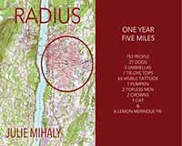 Radius: One Year, Five Miles - a book by Julie Mihaly