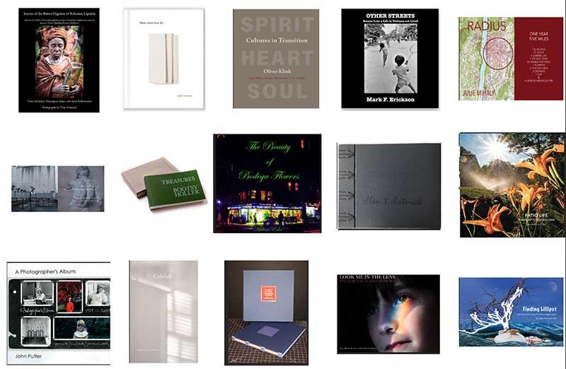 illustration of 15 photobooks