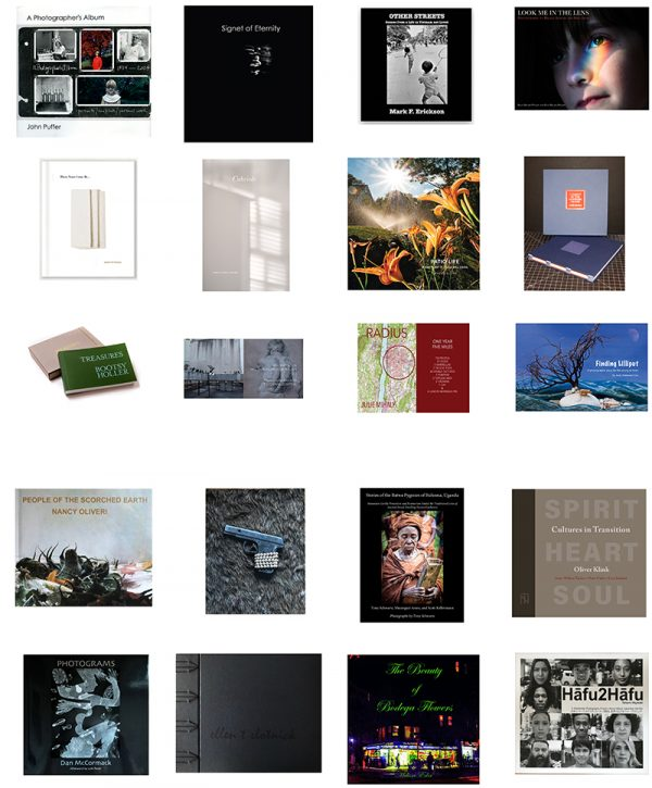 Grid of 20 photobooks