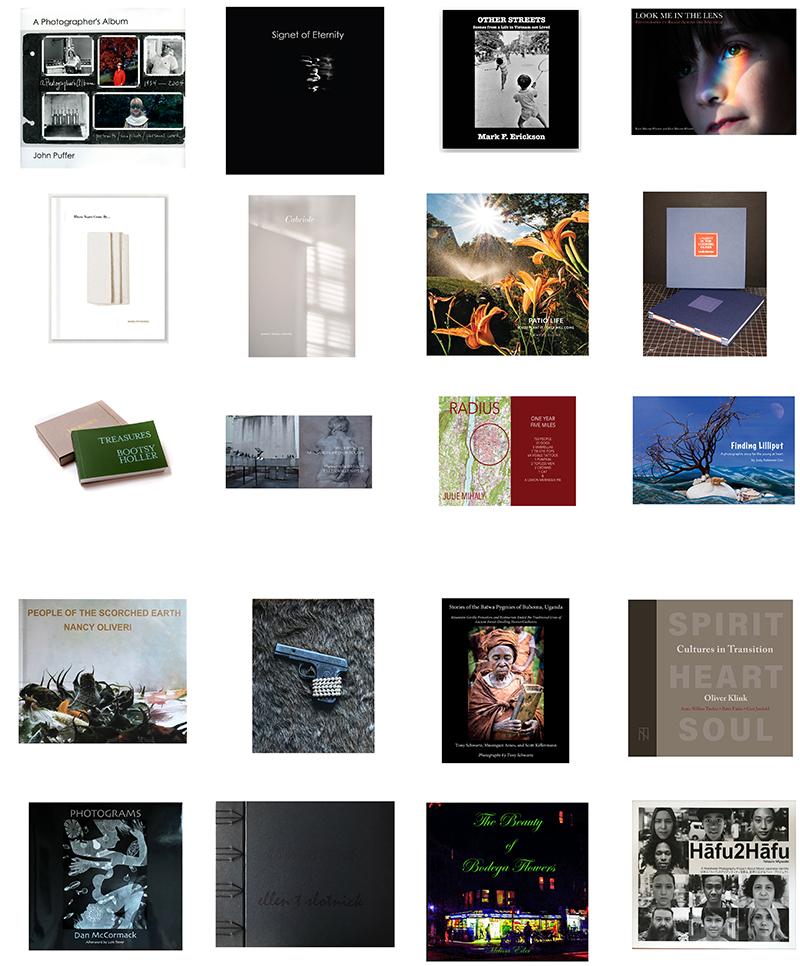 Grid of 20 photobooks