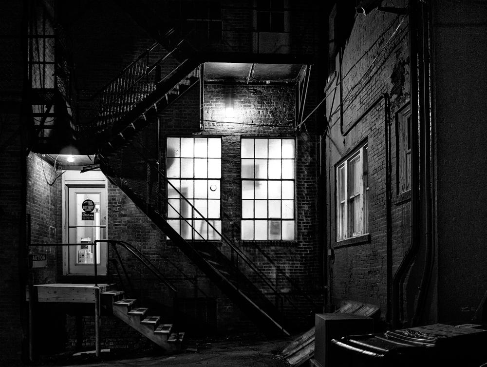 photograph- Rear Entrance by Ken Dreyfack