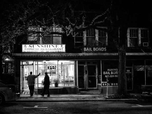 Sunshine at Night, Kingston NY, 2018