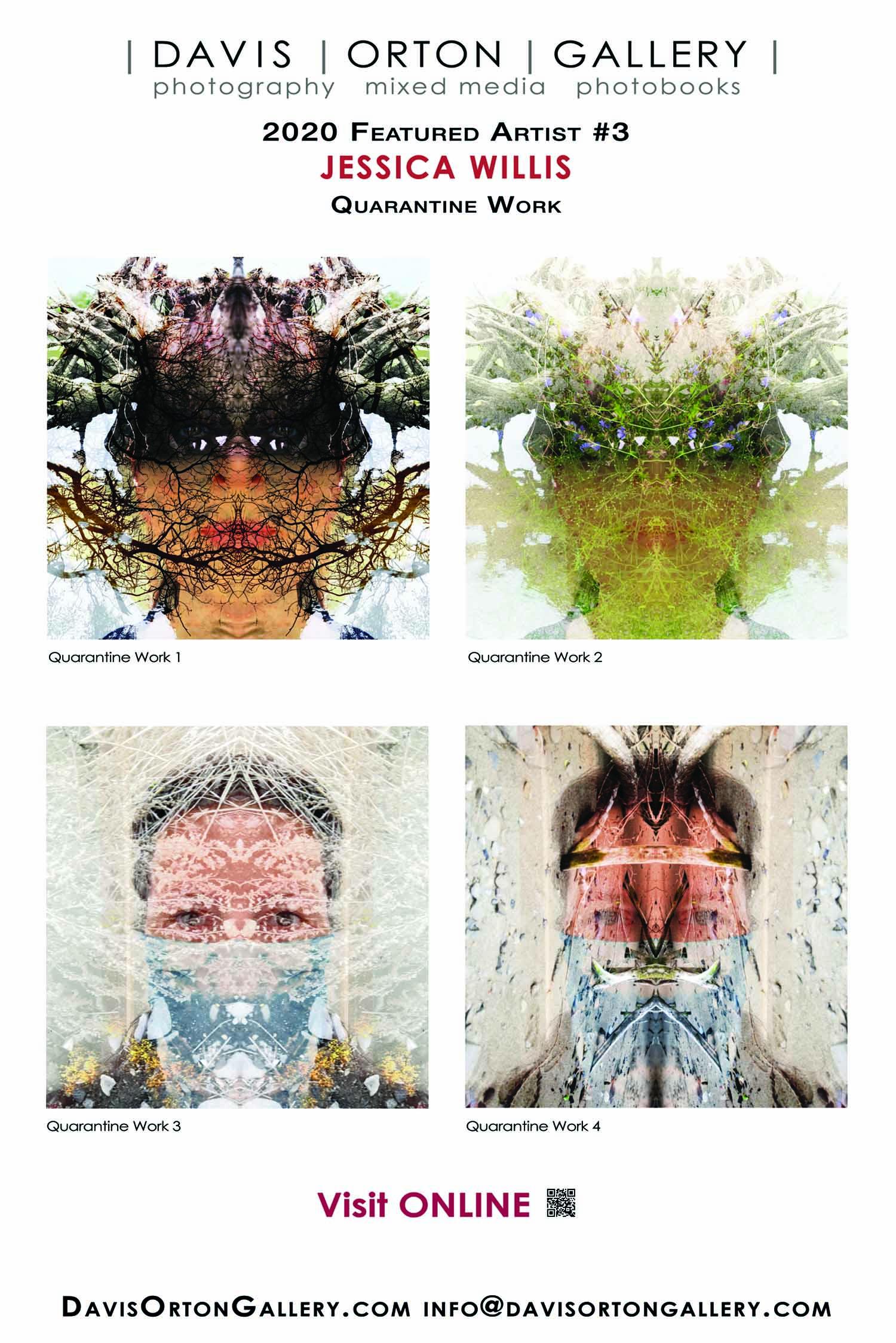 Banner - 4ftx6ft, Artist Spotlight 3: Jessica Ann Willis, Quarantine Work
