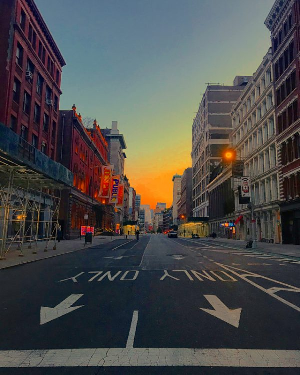 photo, Melissa Eder, New York City Views: Lafayette and Astor Place