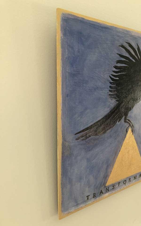 Detail: Bird of Transformation, 2020