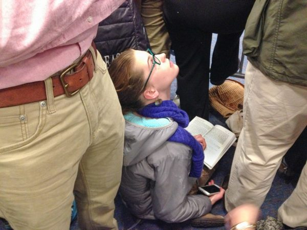 Reading at Protest by Ellen Feldman
