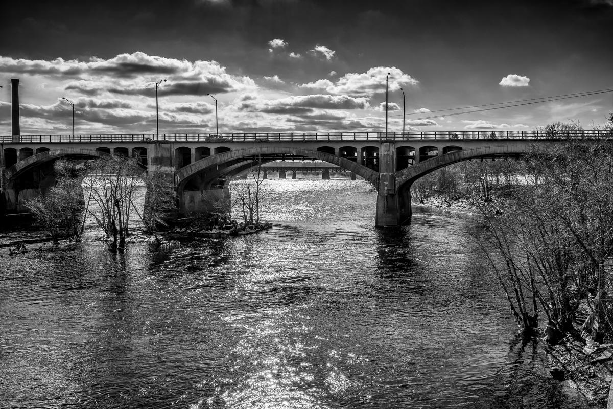 Merrimack River Landscape 2 by David Whitney