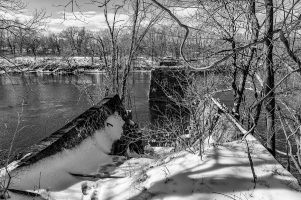 Merrimack River Landscape 3 by David Whitney